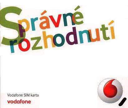 3 měsíce předplacený Mobilní internet s FUP 4 až 10 GB od Vodafone s 70% slevou od 250 Kč měsíčně